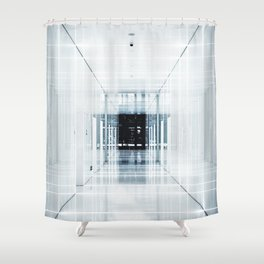 Endless Rooms (Color) Shower Curtain