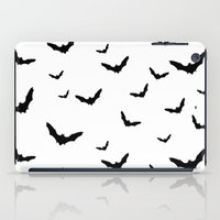 bats iPad Cases featuring Bats by Miles Maxwell