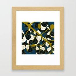 Modern Batik Framed Art Print