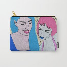 Two Girls and Phone Carry-All Pouch