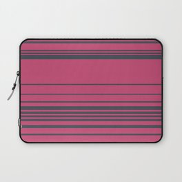 Complex Stripes - Raspberry Laptop Sleeve