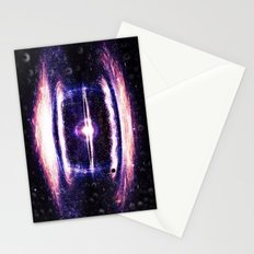 Explosion in the space Stationery Cards