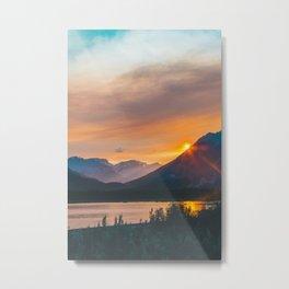 Jasper, Alberta Metal Print
