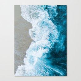 Ocean Overhead Canvas Print