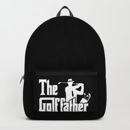 The Golf Father - Funny Golfer print Gift for Dad Backpack