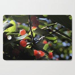 Jane's Garden - Sunkissed Red Berries Cutting Board
