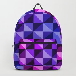 Geometry:Blue-Purple-Pink Backpack