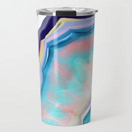 Rainbow agate Travel Mug