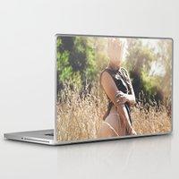 rebel Laptop & iPad Skins featuring Rebel by Josefina