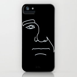 Bill Murray - Black and White iPhone Case