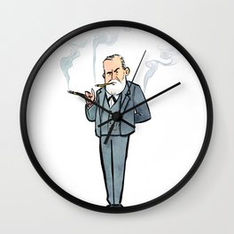 Sigmund Freud Wall Clock