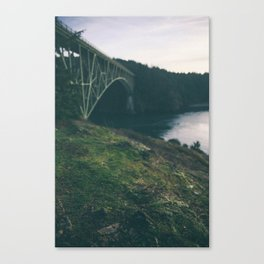 Deception Pass Bridge I Canvas Print