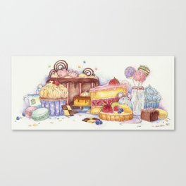 Sweet Thieves Canvas Print