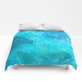 ghost in the swimming pool #003 Comforters