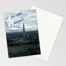 All You Need is a Passport Stationery Cards