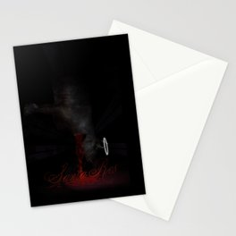 Meat me on the other side Stationery Cards