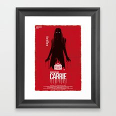 Carrie (Red Collection) Framed Art Print