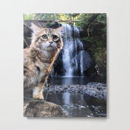 Bobby Joe <3 Waterfalls Metal Print