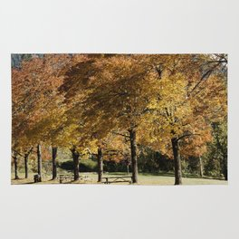 Fall in Lowell Oregon Rug