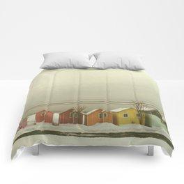 Tropical Heat Wave Comforters