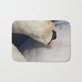 The Quiet Swan Bath Mat