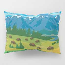 Land Of The American Natives No. 2 Pillow Sham