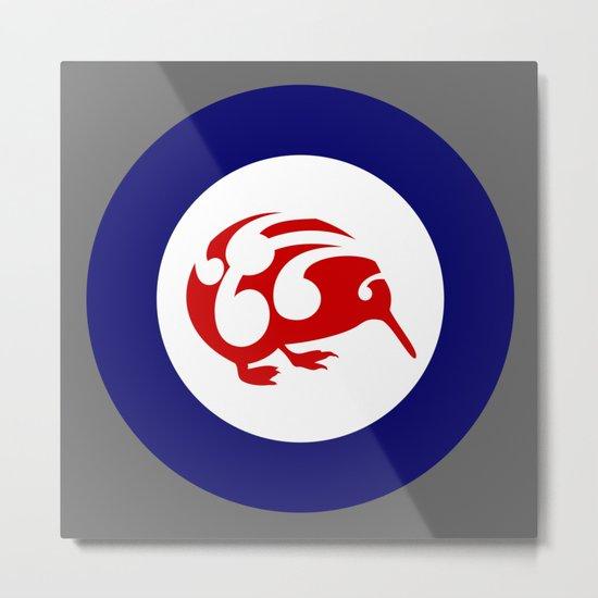 Kiwi Air Force Roundel Metal Print