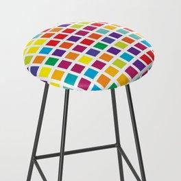 City Blocks - Rainbow #494 Bar Stool