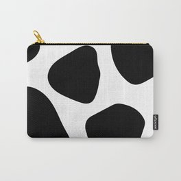 Gold Foil and Black Pebbles Carry-All Pouch