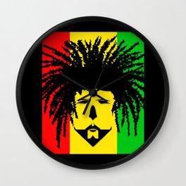 Jamaica Man Wall Clock