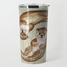OTTERs over Praha Travel Mug