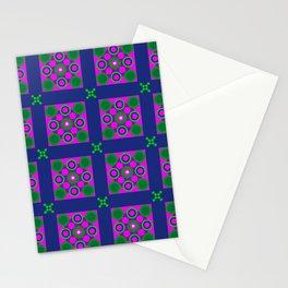 Disco Preppy Tiles Stationery Cards