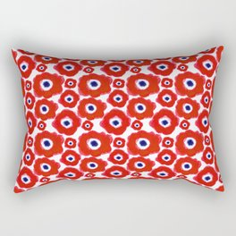 Hopeful Anemones Rectangular Pillow