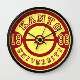 Kanto University 96 logo Wall Clock