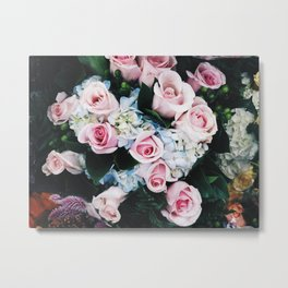 Roses in Manhattan Metal Print