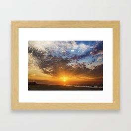 Cape May Sunrise Framed Art Print