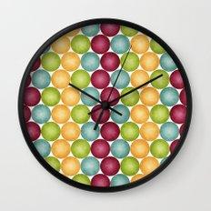 Polka Me Dotty! Wall Clock