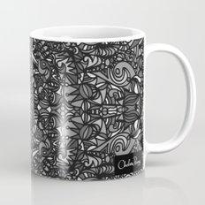 Piccadilly Circus Black & White Mug