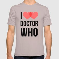 I ♥♥ Doctor Who LARGE Cinder Mens Fitted Tee
