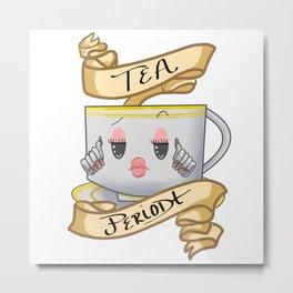 Tea bish Metal Print