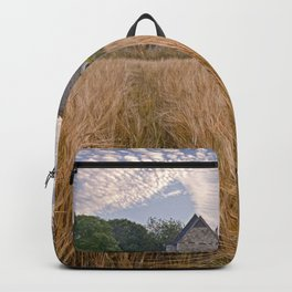 Wheatfields To The Church Backpack