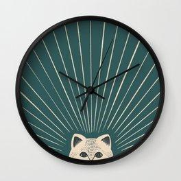 Good Morning son - Kitty Wall Clock