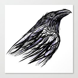 CROW // I Canvas Print