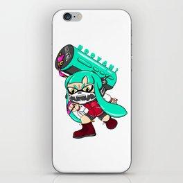 Splatoon BOOYAH! iPhone Skin