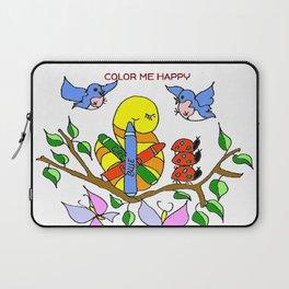 """Color Me Happy"" Laptop Sleeve"