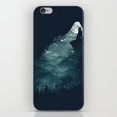 Hungry Wolf iPhone Skin