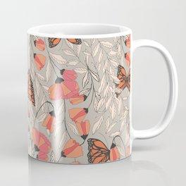 Monarch garden 001 Coffee Mug