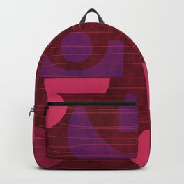 Pink and Purple Moons Backpack