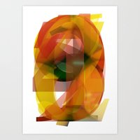 numbers Art Prints featuring Numbers by Will Brice