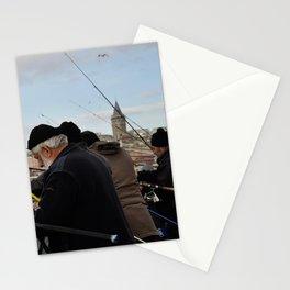 Fishing at Halic Stationery Cards